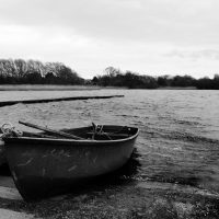 A Boat at Hornsea Mere | northolmefiley.com