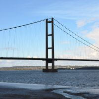 Humber Bridge from The Waters Edge Visitor Centre | northolmefiley.com